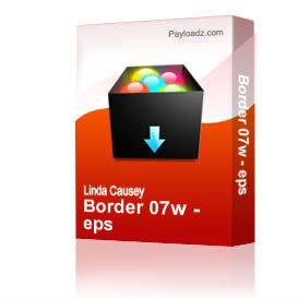 Border 07w - eps | Other Files | Clip Art