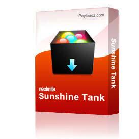 Sunshine Tank | Other Files | Arts and Crafts