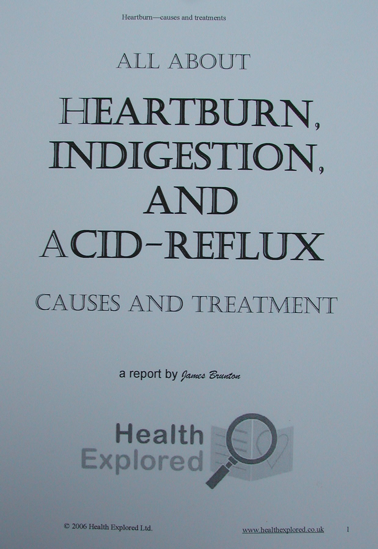 Acid Reflux Weakness Lightheadedness