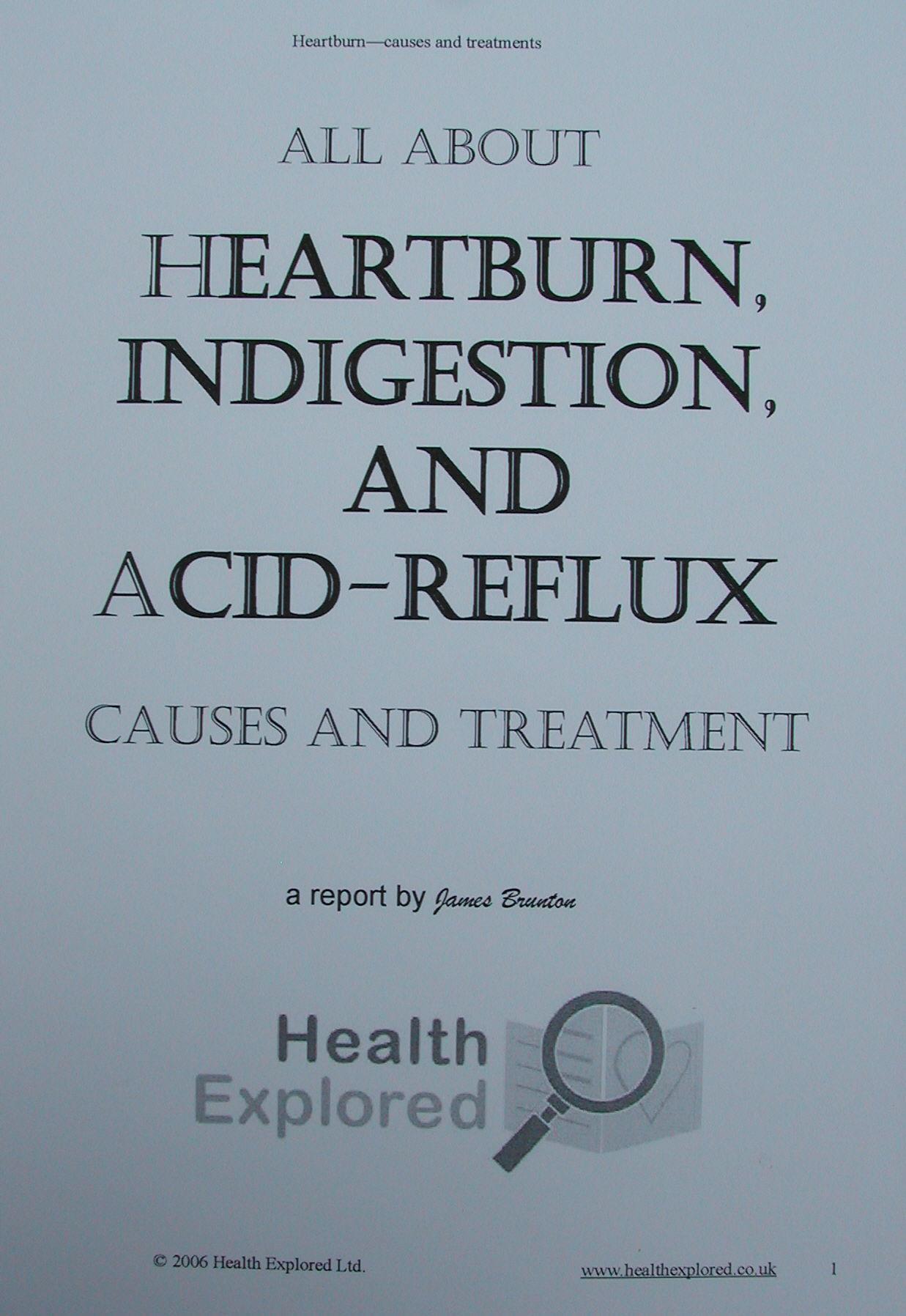 Acid Reflux Weakness Lightheadedness