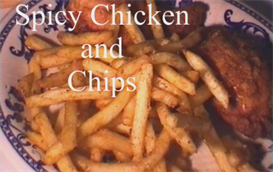 Spicy chicken and fries | Movies and Videos | Documentary