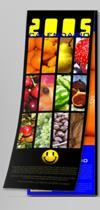 Calendario da muro, 15x42 cm: frutta di stagione   Other Files   Patterns and Templates