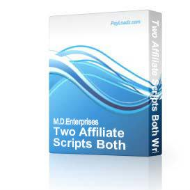 13 Two Affiliate Scripts Both Written In PHP | Software | Internet