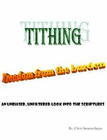 Tithing - Freedom From the Burden (for Microsoft Reader) | eBooks | Religion and Spirituality