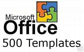 500 Office Templates | Other Files | Documents and Forms