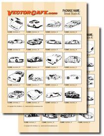 Street Stocks Vector Clip Art #1 | Other Files | Clip Art
