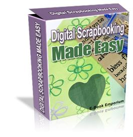digital scrapbooking made easy ebook resale resell !