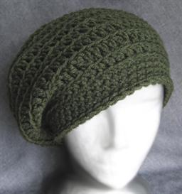 My crochet hat: CROCHET BERET HAT PATTERNS