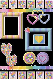 Rainbow Heart Set | Other Files | Arts and Crafts
