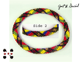 MacMillan Scottish Plaid Bead Crochet Bracelet | eBooks | Arts and Crafts