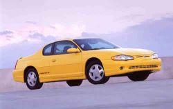 1997 Chevrolet Monte Carlo MVMA Specifications | Other Files | Documents and Forms