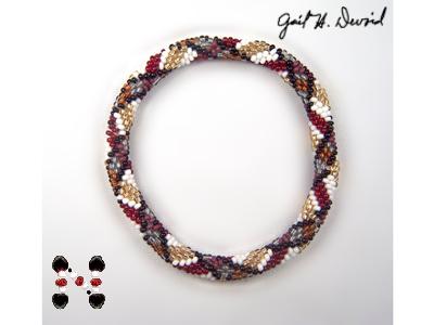 scottish plaid bead crochet bracelet ebooks arts and