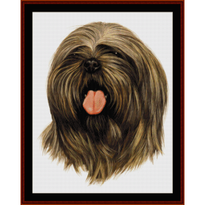 Llahso Apso - Robt. J. May cross stitch pattern by Cross Stitch Collectibles | Crafting | Cross-Stitch | Wall Hangings