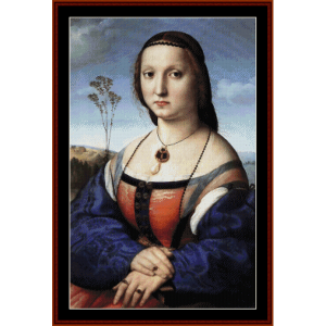 Magdalena Doni - Raphael cross stitch pattern by Cross Stitch Collectibles | Crafting | Cross-Stitch | Wall Hangings