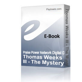 Thomas Weeks III - The Mystery of Love | Audio Books | Religion and Spirituality