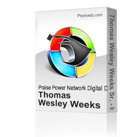 thomas wesley weeks sr. - it's my season