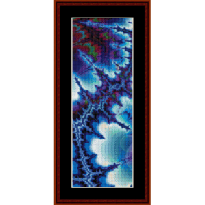 Fractal 236 Bookmark cross stitch pattern by Cross Stitch Collectibles | Crafting | Cross-Stitch | Other