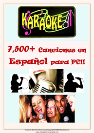 karaoke para pc 7500 canciones y mas en espanol karaoke songs in spanish for your pc