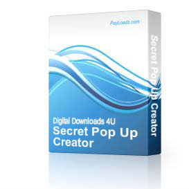 Secret Pop Up Creator