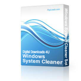 Windows System Cleaner Software