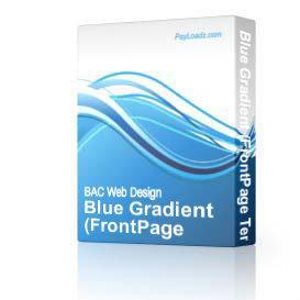 Blue Gradient | Software | Design Templates