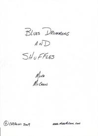 blues drumming and shuffles