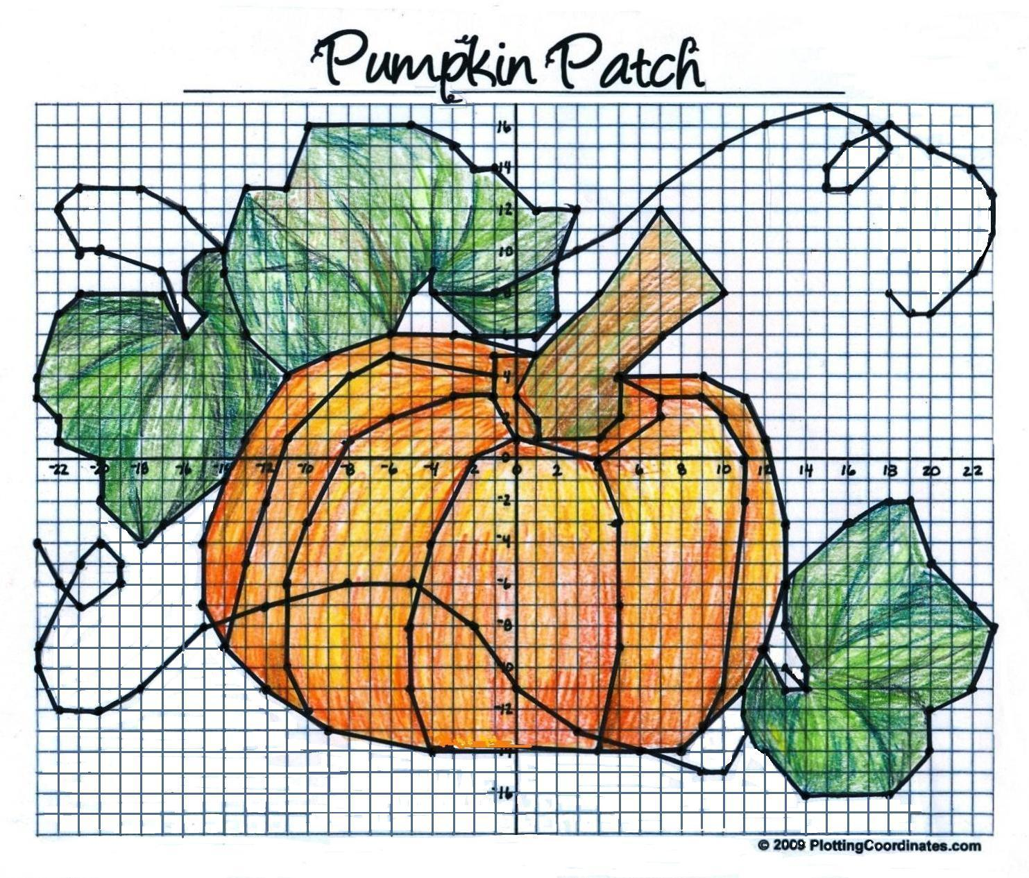 worksheet Pumpkin Coordinate Graph pumpkin other files documents and forms