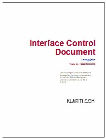 Interface Control Document | Software | Software Templates