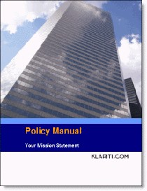 Policy Manual Template | Other Files | Documents and Forms