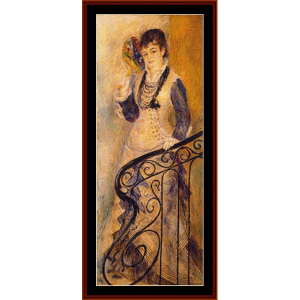 On the Stairs - Renoir cross stitch pattern by Cross Stitch Collectibles | Crafting | Cross-Stitch | Wall Hangings