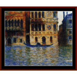 Palazzo Dario - Monet cross stitch pattern by Cross Stitch Collectibles | Crafting | Cross-Stitch | Wall Hangings