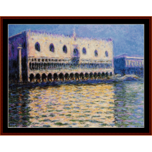 The Palazzo Ducale - Monet cross stitch pattern by Cross Stitch Collectibles | Crafting | Cross-Stitch | Other
