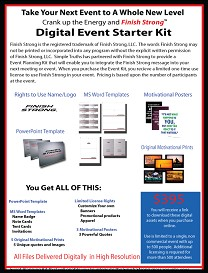 Finish Strong Digital Event Starter Kit