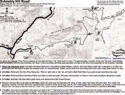 Schnebly Hill Road Sedona Arizona 4x4 Jeep Trail BW Map | eBooks | Health