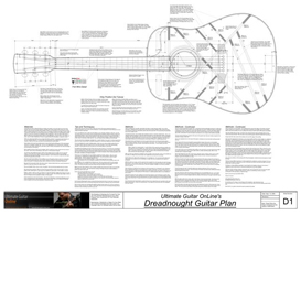 Dreadnought Guitar Plans | Other Files | Documents and Forms