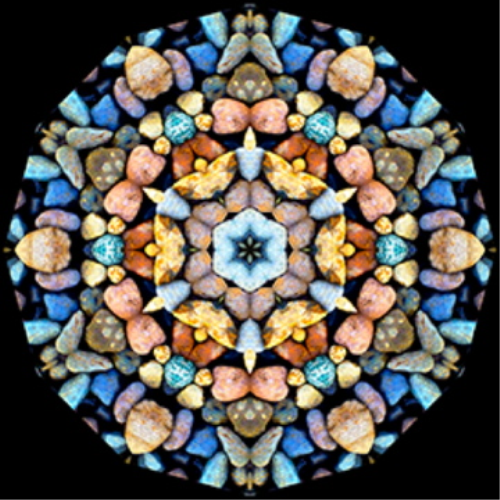 First Additional product image for - Photoshop Kaleidoscope + Pattern + Frame + Parchment Effects Actions, Mac or PC -