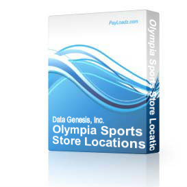 olympia sports store locations list