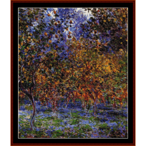 Under the Lemon Trees - Monet cross stitch pattern by Cross Stitch Collectibles | Crafting | Cross-Stitch | Wall Hangings