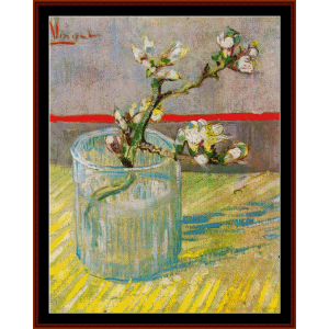 Blossoming Almond Branches - Van Gogh cross stitch pattern by Cross Stitch Collectibles | Crafting | Cross-Stitch | Wall Hangings