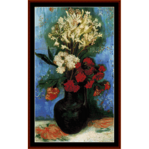 Vase with Flowers - Van Gogh cross stitch pattern by Cross Stitch Collectibles | Crafting | Cross-Stitch | Wall Hangings
