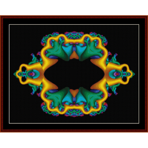 Fractal 79 cross stitch pattern by Cross Stitch Collectibles | Crafting | Cross-Stitch | Wall Hangings