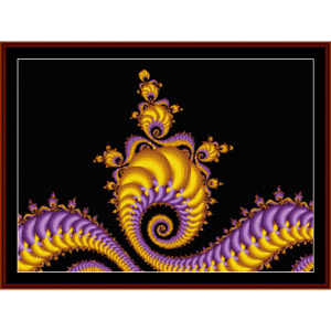 Fractal 80 cross stitch pattern by Cross Stitch Collectibles | Crafting | Cross-Stitch | Other