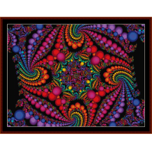Fractal 95 cross stitch pattern by Cross Stitch Collectibles | Crafting | Cross-Stitch | Other