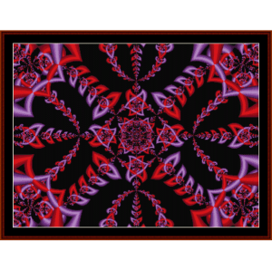 Fractal 98 cross stitch pattern by Cross Stitch Collectibles | Crafting | Cross-Stitch | Other