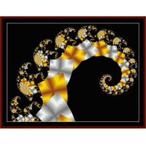 Fractal 121 cross stitch pattern by Cross Stitch Collectibles   Crafting   Cross-Stitch   Wall Hangings