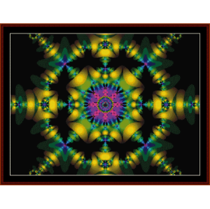 Fractal 125 cross stitch pattern by Cross Stitch Collectibles | Crafting | Cross-Stitch | Wall Hangings
