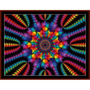 Fractal 130 cross stitch pattern by Cross Stitch Collectibles | Crafting | Cross-Stitch | Other