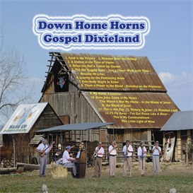 Down Home Horns Volume 1 Gospel Dixieland CD | Music | Gospel and Spiritual