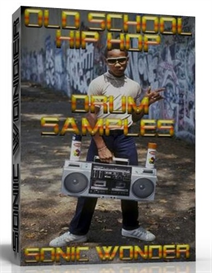 old school hip hop drums  - wave samples -