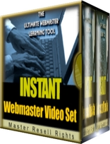 Instant Webmaster Video Set | Movies and Videos | Educational